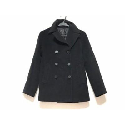 アンタイトル UNTITLED コート サイズ2 M レディース - 黒 長袖/ショート丈/冬【中古】20201201
