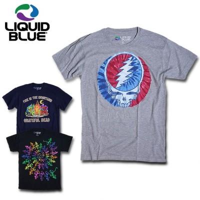 『LIQUID BLUE/リキッドブルー』lbgd182 SOLID PRINT TEE/ソリッドプリントTシャツ -全3色-