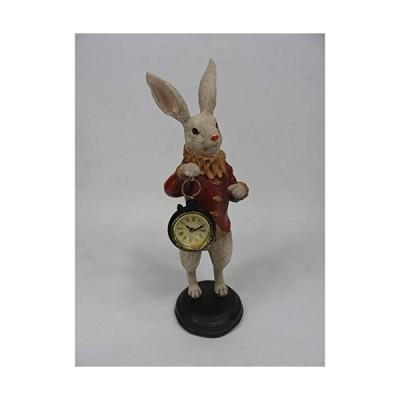 クラシック 置時計 ラビット(ウサギ)懐中時計 「ラビットE」 クロック