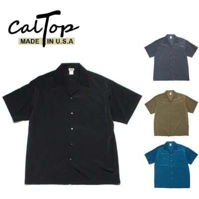 CalTop オープンカラーシャツ キャルトップ 半袖 #3003 アメリカ製