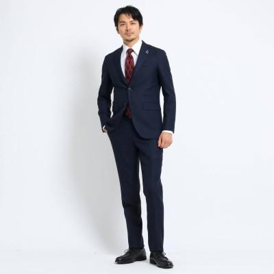 タケオ キクチ TAKEO KIKUCHI 【Sサイズ~】檜垣紋 スーツ (ネイビー)
