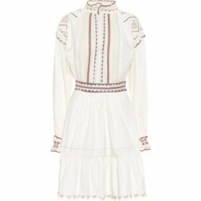エトロ Etro レディース パーティードレス ワンピース・ドレス Embroidered cotton minidress