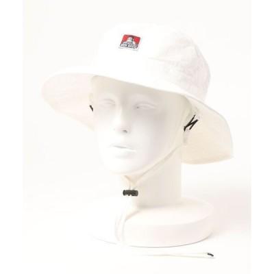 帽子 ハット 【BEN DAVIS/ベンデイビス】ウオッシャブルアドベンチャーハット/サファリハット ワンポイントブランドロゴ