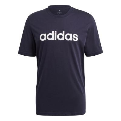 アディダスウェアTシャツ 半袖 エッセンシャル エンブロイダード リニアロゴ 29192-GL0062 カットソーネイビー