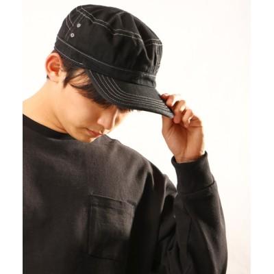 FUNALIVE / 【SENSE OF GRACE】WORK CAP LABE キャップ MEN 帽子 > キャップ