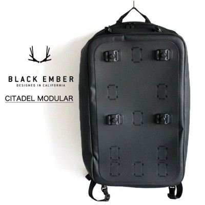 BLACK EMBER ブラックエンバー CITADEL MODULAR シタデル モデューラー バックパック リュック カバン メンズ レディース 防水 ブラック 7219013