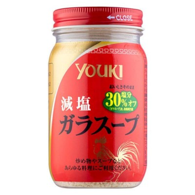 ユウキ食品鶏がらスープの素 減塩ガラスープ 110g 1個 ユウキ食品