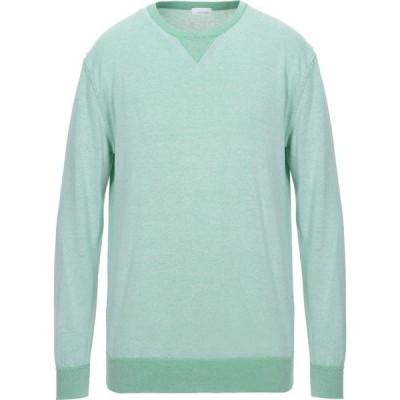 ヘリテイジ HERITAGE メンズ ニット・セーター トップス sweater Green