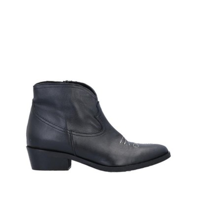 DIVINE FOLLIE ショートブーツ  レディースファッション  レディースシューズ  ブーツ  その他ブーツ ブラック