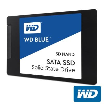 WD 藍標 500GB 2.5吋 3D NAND SSD固態硬碟