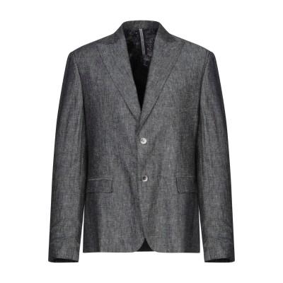 アレッサンドロデラクア ALESSANDRO DELL'ACQUA テーラードジャケット グレー 46 麻 55% / コットン 45% テーラード