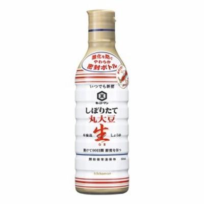 キッコーマン 【萬】いつでも新鮮丸大豆生しょうゆ 450ml×6入