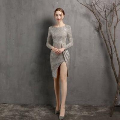 パーティードレス 安い 可愛い イブニングドレス パーティーセクシー キャバ ナイトクラブ