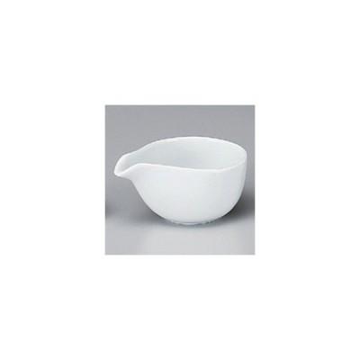 和食器 / 洋陶単品 スワン白片口ドレッシング(中) 寸法:10.4 x 7.3 x 5.3cm 100cc 強化