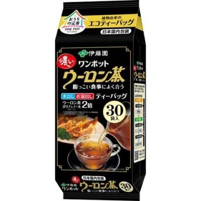 伊藤園 ワンポット 濃いウーロン茶 エコティーバッグ (5.0g*30袋入)