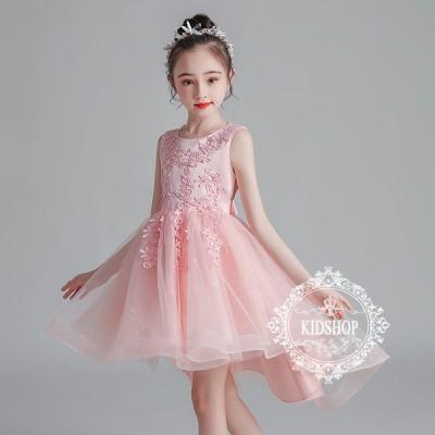 2021子供ドレス発表会結婚式キッズフォーマルドレスワンピース子供服 女の子フラワーガール