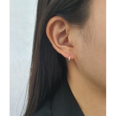 Outfitter lab / 【silver925】 シンプル フープピアス WOMEN アクセサリー > ピアス(両耳用)