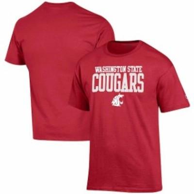 Champion チャンピオン スポーツ用品  Champion Washington State Cougars Crimson Core Mascot T-Shirt