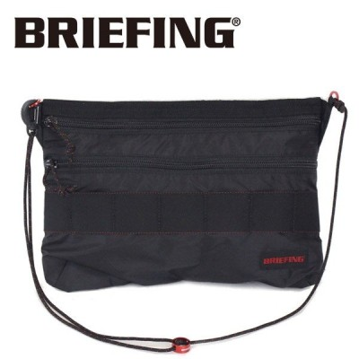 BRIEFING (ブリーフィング) BRM181205-010 SACOCHE M SL PACKABLE (サコッシュ M SL パッカブル)  BLACK BR367