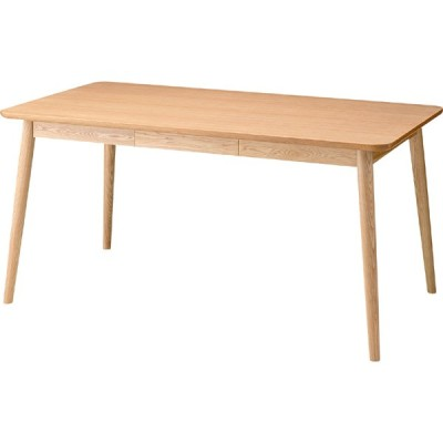 ヘンリー ダイニングテーブル ナチュラル 天然木 スタイリッシュ  家具 モダン インテリア PARDO パルド