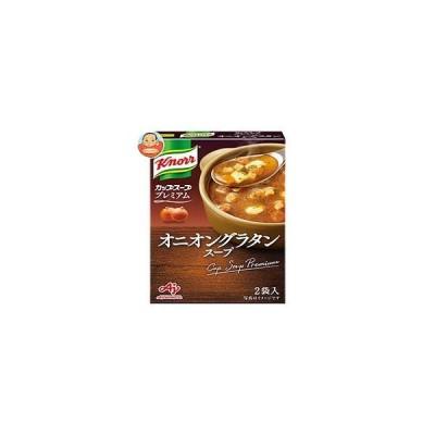 味の素 クノールカップスープ プレミアム オニオングラタンスープ (14.7g×2袋)×10箱入