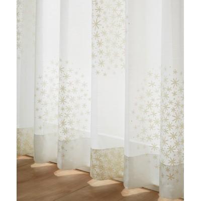 【1cm単位オーダー】北欧風レースカーテン(1枚) レースカーテン・ボイルカーテン, Curtains, sheer curtains, net curtains(ニッセン、nissen)