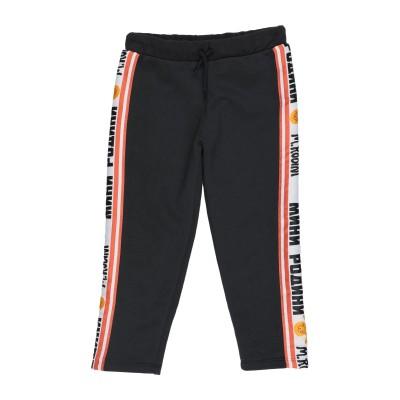 MINI RODINI パンツ ブラック 5 オーガニックコットン 100% パンツ