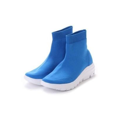 ゴムゴム Gomu56 フィット感ショートブーツ (ブルー)