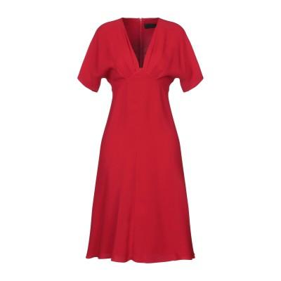 デレク ラム DEREK LAM ミニワンピース&ドレス レッド 40 シルク 100% ミニワンピース&ドレス