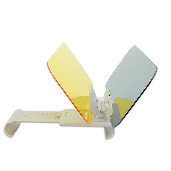 汽車兩用護目鏡 太陽鏡 夜視鏡 防眩光 汽車遮陽鏡 車用護目鏡 雙鏡片 遮陽板(V50-0273)