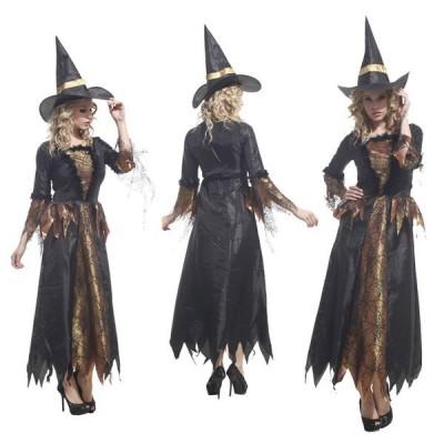 大人用 女性用 ハロウィン衣装 女巫 メルヘン ウィッチガール  まじょ 魔女  ハロウィン 衣装 仮装 コスプレ レディース イベント ハロウィーン