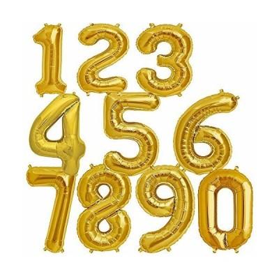 stshell 誕生日 飾り 風船 セット 数字バルーン バースデー パーティー 誕生日 飾り付け ゴールド