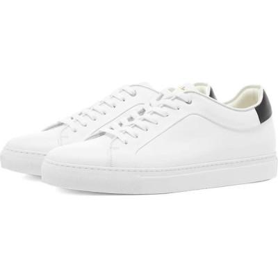 ポールスミス Paul Smith メンズ スニーカー シューズ・靴 Basso Leather Sneaker White/Black