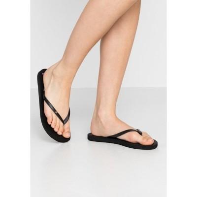 ロキシー サンダル レディース シューズ SANDY  - Pool shoes - black/multicolor