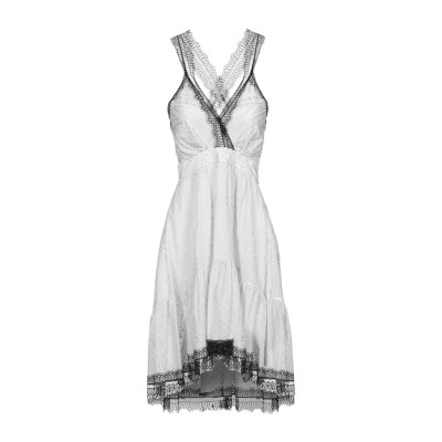 ジャストカヴァリ JUST CAVALLI ミニワンピース&ドレス ライトグレー 40 100% レーヨン ミニワンピース&ドレス