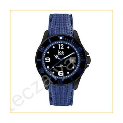 Ice-Watch ICE Steel Large Black Blue 44mm Men's Watch 015783並行輸入品