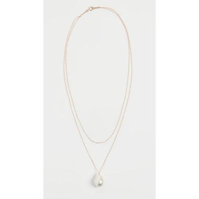 ミズキ Mizuki レディース ネックレス ジュエリー・アクセサリー Freshwater Pearl Double Wrap Necklace Gold