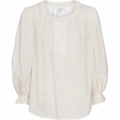 ベルベット グラハムandスペンサー Velvet レディース ブラウス・シャツ トップス Larsa blouse Cream