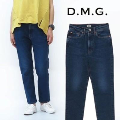 ドミンゴ D.M.G. DOMINGO 5ポケット デニム アンクル テーパード パンツ レディース ブラスト 14-042C MADE IN JAPAN