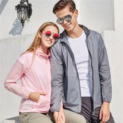 ラッシュガード メンズ レディース ペア日焼け止め服 カップル ペアルック 紫外線防止 紫外線対策 運動服 ビーチ 冷房 送料無料