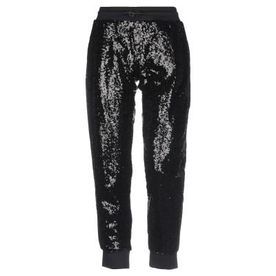 PHILIPP PLEIN パンツ ブラック XS ポリエステル 100% / コットン / ポリウレタン パンツ