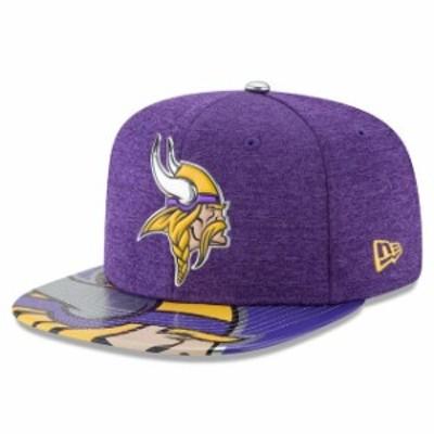 New Era ニュー エラ スポーツ用品  New Era Minnesota Vikings 2017 NFL Draft On Stage Original Fit 9FIFTY Snapback Adju