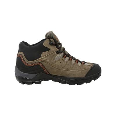 キッズ 海外セレクション Hi-Tec Men's Ox Belmont Mid I Waterproof High-Top Leather Hiking Shoe