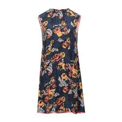 テッサ .TESSA ミニワンピース&ドレス ダークブルー 42 レーヨン 100% ミニワンピース&ドレス