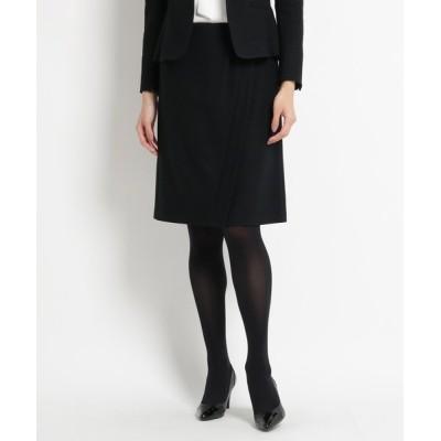 COUP DE CHANCE / ラップ風ウール混スカート WOMEN スカート > スカート