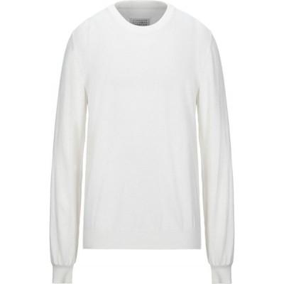 メゾン マルジェラ MAISON MARGIELA メンズ ニット・セーター トップス sweater White