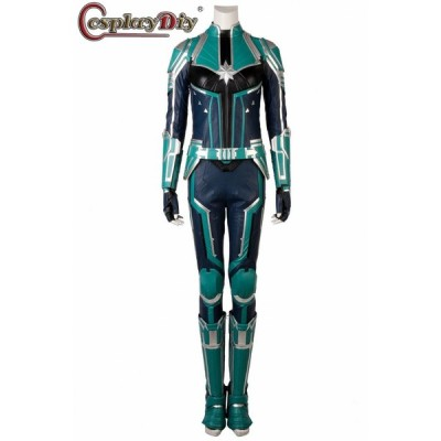高品質 高級コスプレ衣装 キャプテンマーベル風 ヨンロッグタイプ ジャンプスーツ オーダメイド Captain Marvel Yon-Rogg Cosplay Costume
