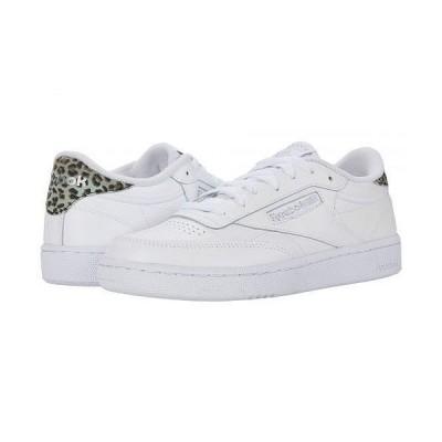 Reebok Lifestyle リーボック レディース 女性用 シューズ 靴 スニーカー 運動靴 Club C 85 - White/Silver Metallic/White