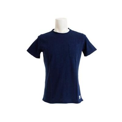 エルケクス(ELKEX) Tシャツ メンズ INDIGO SLUB ショートスリーブTシャツ 863EK9FQ9396IBLU オンライン価格 (メンズ)