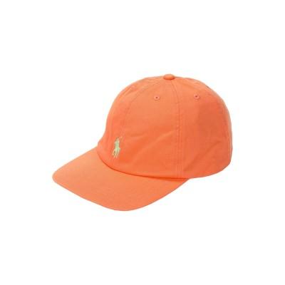 ラルフローレン RALPH LAUREN 帽子 オレンジ 56 コットン 100% 帽子